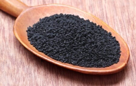 Nigella or Black cumin.