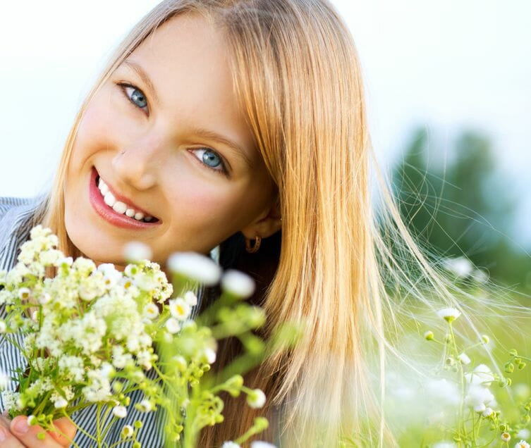 Skin Treatment with Camomile