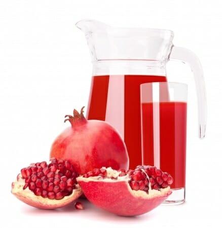 pomegranate fruit juice