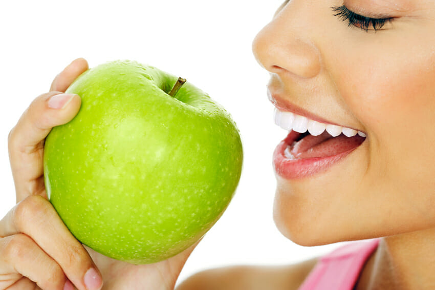 apples for teeth