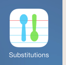 Substitutions App
