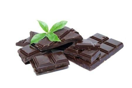 dark chocolate for heart