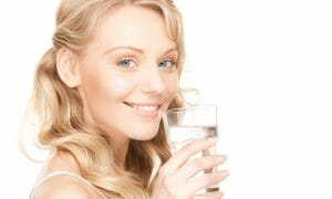 Woman thoughts about dehydration signs and causes