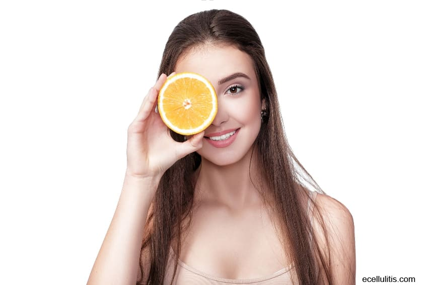 vitamin C for lose weight from the face