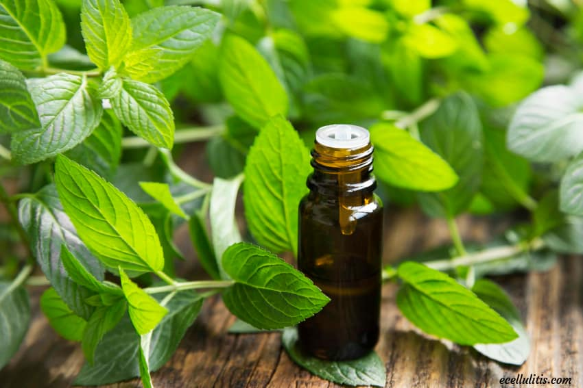 peppermint for sore muscles