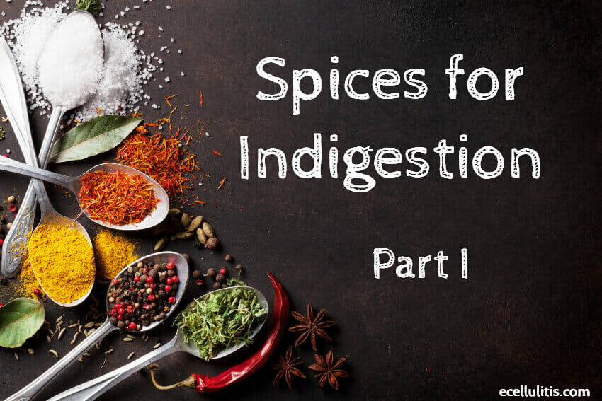 Spices For Indigestion – Find the Remedy In Your Kitchen – Part I