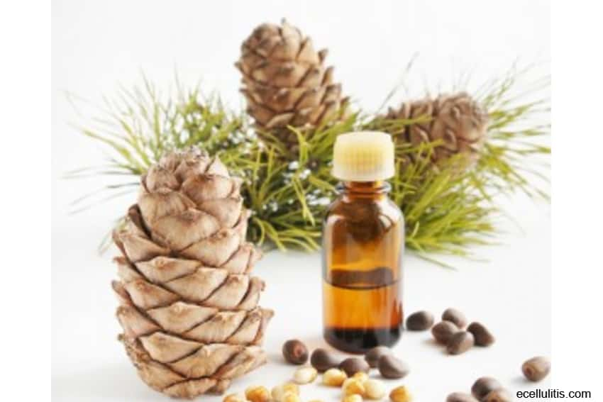 best hair oils - cedar wood essential oil