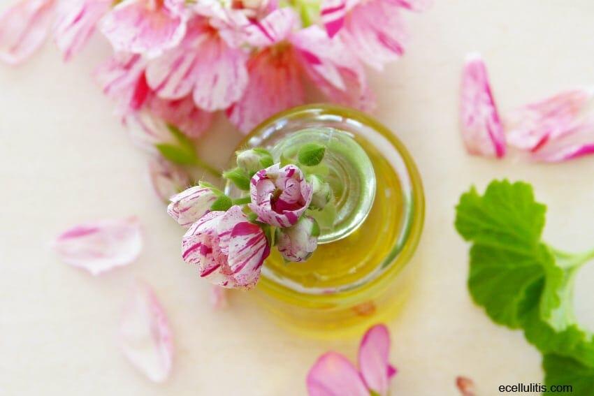 best hair oils - geranium essential oil