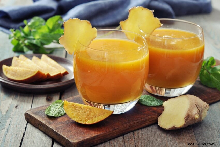mango and ginger smoothie - want to make a green smoothie but don't know how