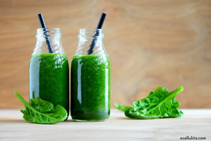 green smoothies - for immune system in spring