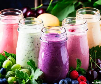 make a healthy smoothie - simple tricks