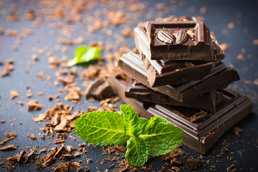 dark chocolate - Top 20 Foods For Memory, Concentration And Energy