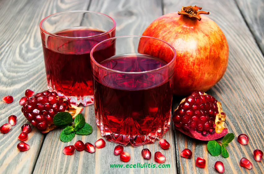 pomegranate juice health properties and recipes - healthiest juices in the world