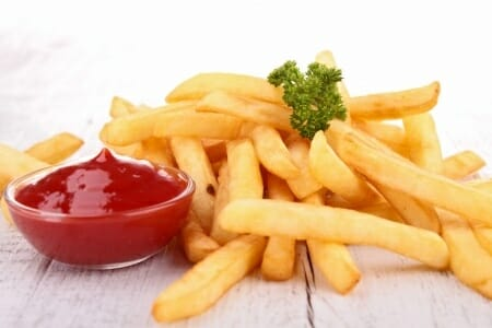 why to avoid french fries