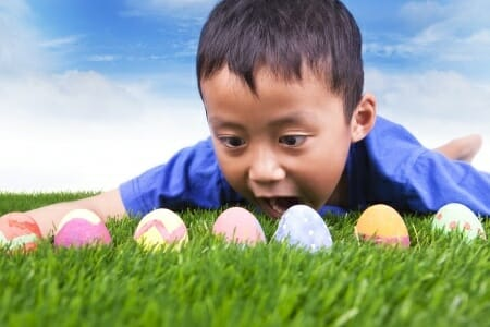 Easter egg hunt last minute  tips.