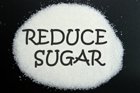 Sugar affects blood vessels, thus accelerates skin's aging