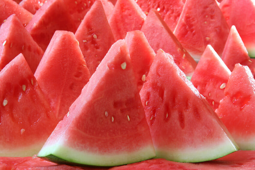 watermelon as summer healthy snacks