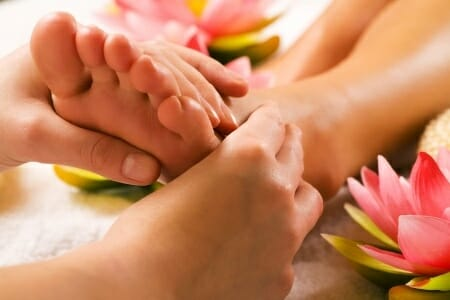 Massage as a powerful treatment for tired feet