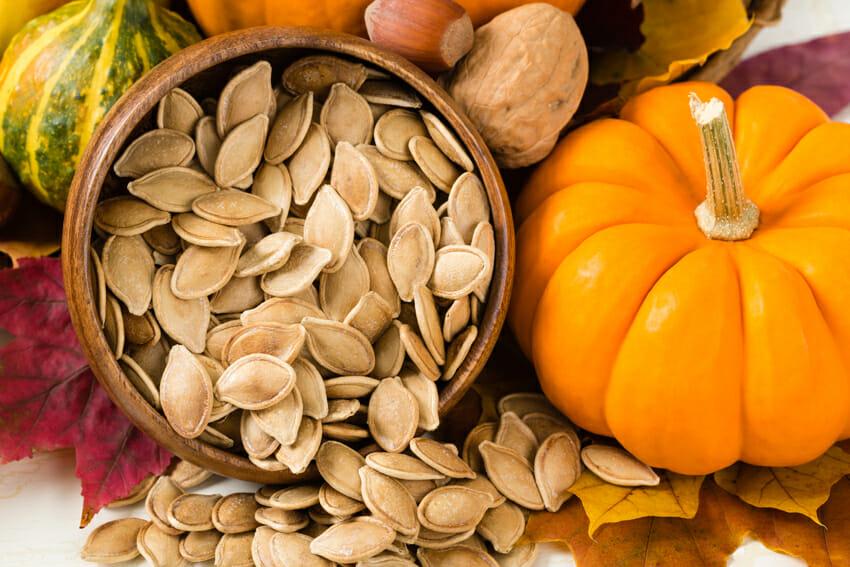 Healthy and joyful mood – pumpkin seeds combat depression