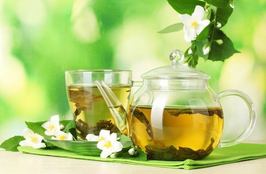 tea for healthy skin