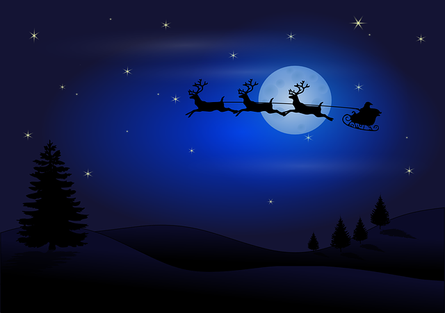 The mystery of Santa's flying in a sleigh