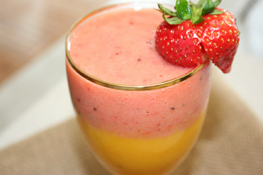 Strawberry & Mango Smoothie