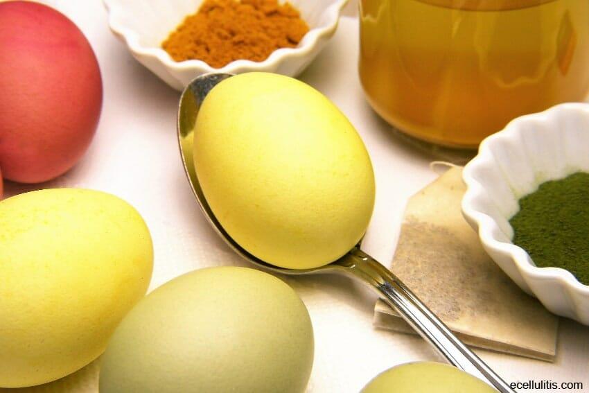 dye easter eggs naturally