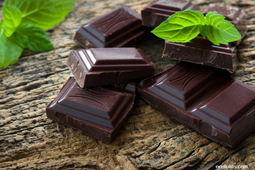 dark chocolate - how to fight stress