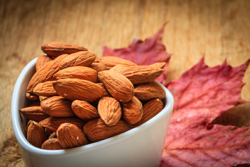 almonds for metabolism