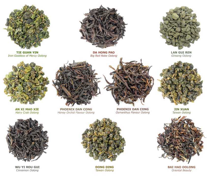 oolong tea - health benefits
