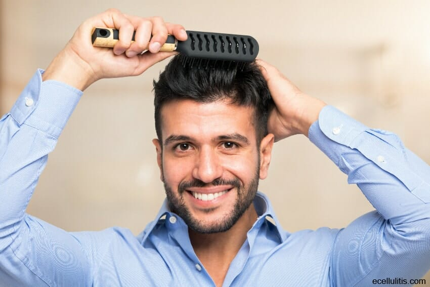 hair loss - be gentle when styling your hair